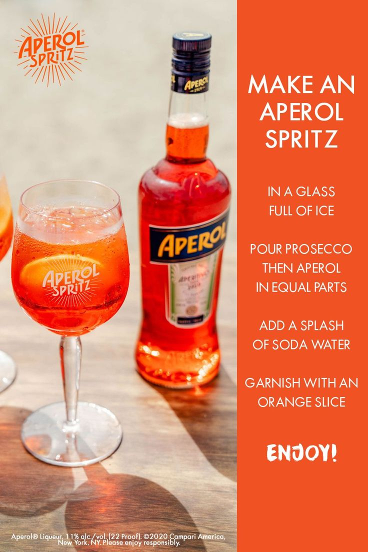 Learn How To Make An Aperol Spritz In 2020 Alcohol Drink Recipes Drinks Alcohol Recipes Aperol Spritz