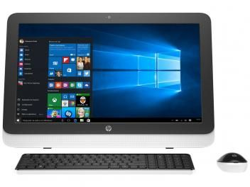 "Computador All in One HP 23-r100br Intel Core i5 - 4GB 500GB LED 23"" Função TV Windows 10"