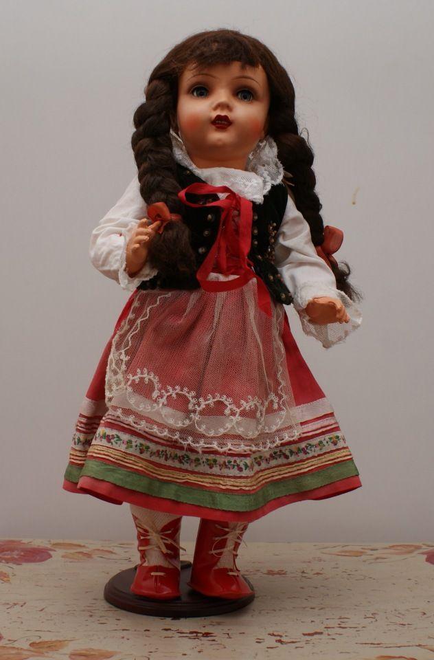 Редкая кукла Адам Шраер. Довоенная. Польша / Антикварные куклы, реплики / Шопик. Продать купить куклу / Бэйбики. Куклы фото. Одежда для кукол