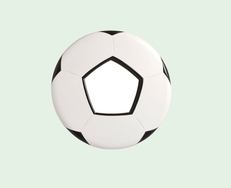Soccer Mad > This is a Football Mirror for in the bathroom..!!