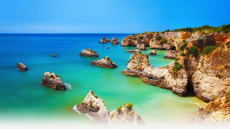 Praia Do Vau, Algarve, Portugal