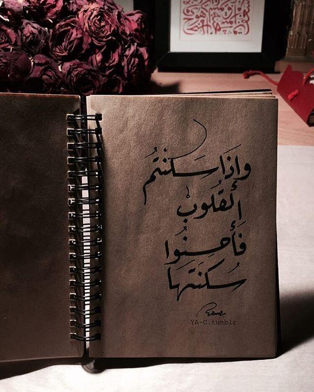 فأحسنوا سكنتها . #calligraphy #عربي #خط_عربي #اقتباسات