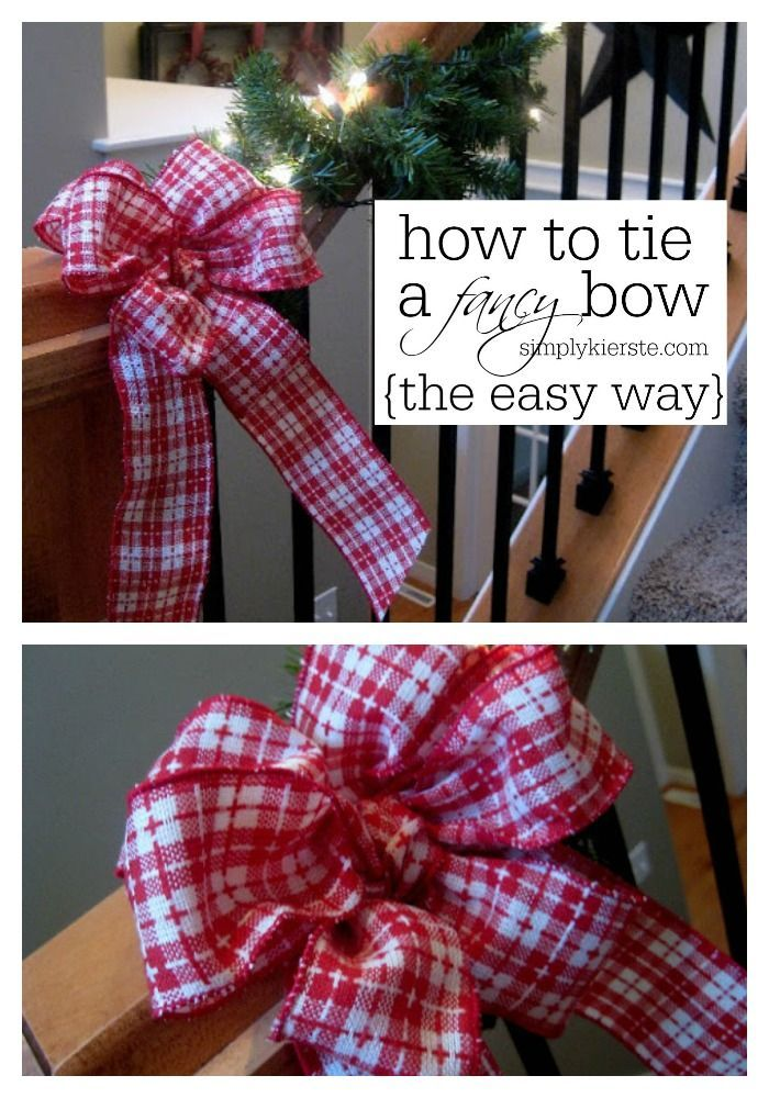 How to Tie a Fancy Bow...the easy way! Video tutorial included!