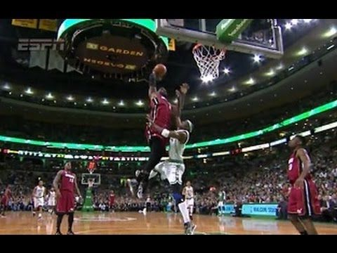 Like father, like son: 12-year-old LeBron James Jr. throws down posterizing dunk