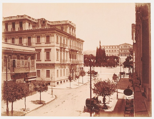Syntagma 1890, view from Ermou Street