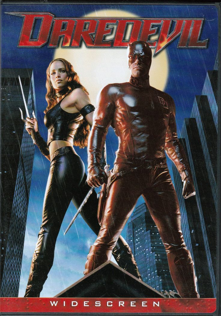 DVD. Daredevil Starring Ben Affleck and Jennifer Garner