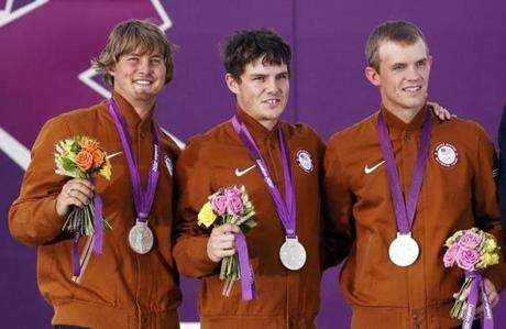 Congrats to Brady, Jacob & Jake! Silver!