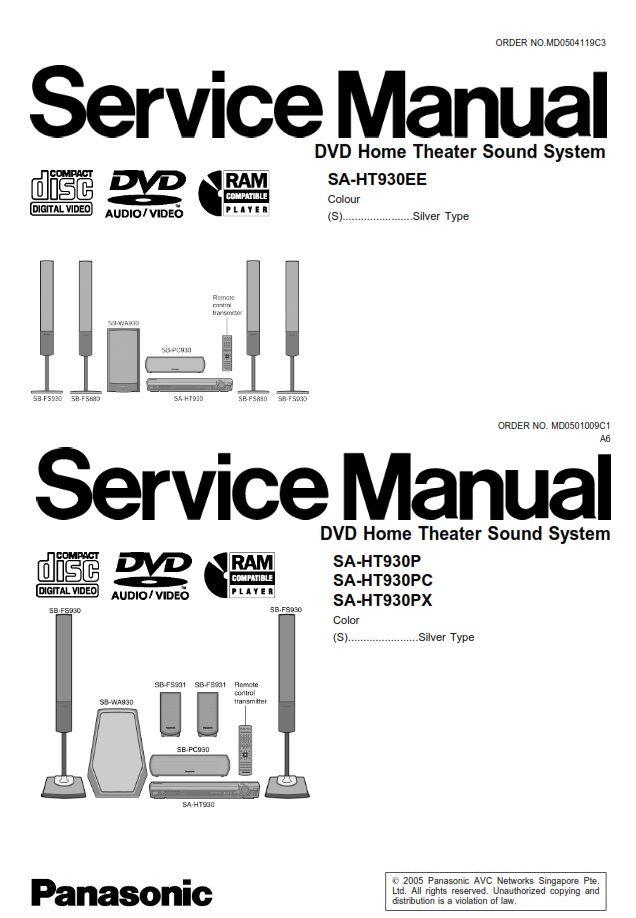 Panasonic Dmr Ex75 Service Manual Complete Manual Panasonic Typed Notes