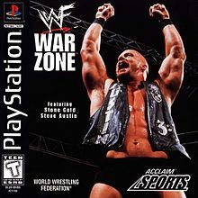 WWF War Zone is a professional wrestling video game developed by Iguana West and released by Acclaim Entertainment in 1998 for the PlayStation, Nintendo 64, and Game Boy.