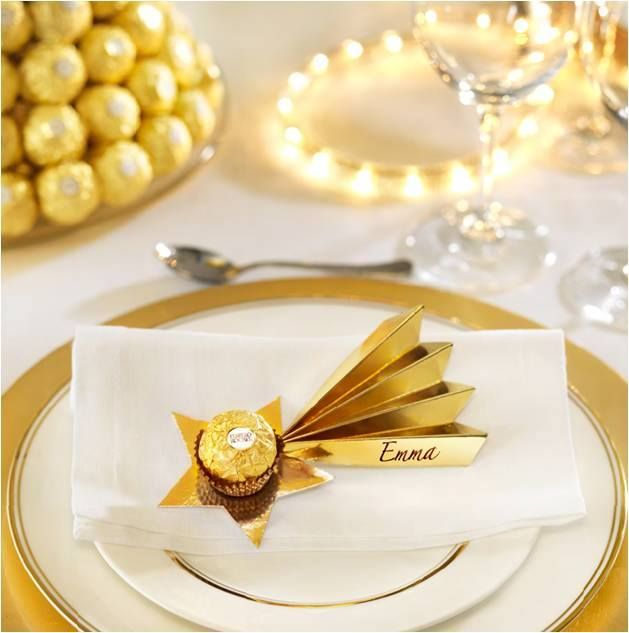 IMAGE ONLY ~ this would be so cute not used as a place setting but for a New Year's Eve party