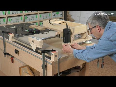 Die HolzWerken-Kopierfräse - das sind ihre Talente - YouTube