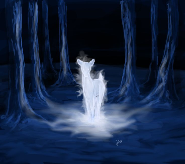 Doe Patronus, the true sign of undying, unending love.