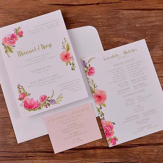 Make Your Wedding Invite Done With Some Help From Written In Ink Wink