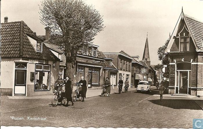 Ansichtkaarten - Putten - Kerkstraat