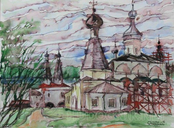 Фнрапонтово. Монастырь в Вологодской области. В соборе - знаменитые фрески Дионисия.