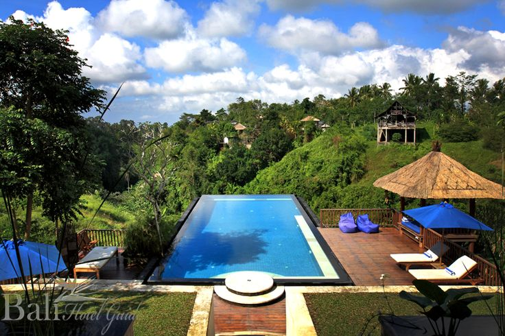 The Amori Villa has an incredible infinity pool, secluded Jacuzzi and spectacular views with a quiet and elegant Balinese ambience. Click on the link to check out their rooms and rates. http://www.balihotelguide.com/booking/hotels/545/amori-villa.aspx  #villa #resort #hotel #bali #spectakuler #view #incredible #infinitypool #balinese #balihotelguide