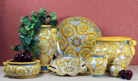 SICILIANA SCIACCA COLLECTION | Artistica Italian Ceramics