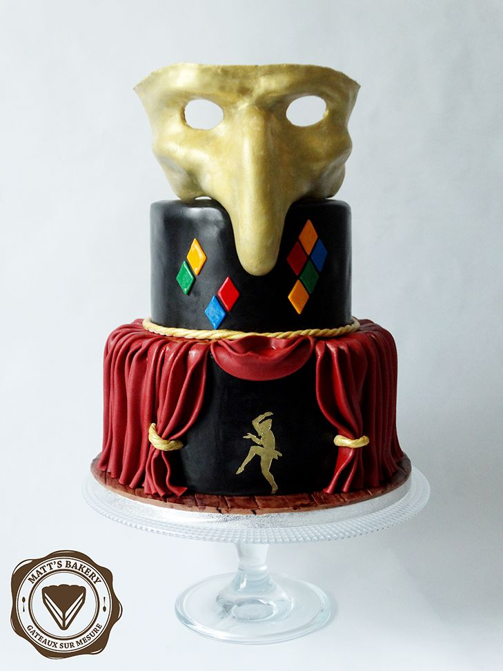 #cakedesign #angers #commediadellarte #birthday #cake #drama #comedy #theater #anniversaire #gateau #dramatique #comedie #theatre