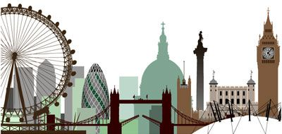 London skyline idea to add to pot