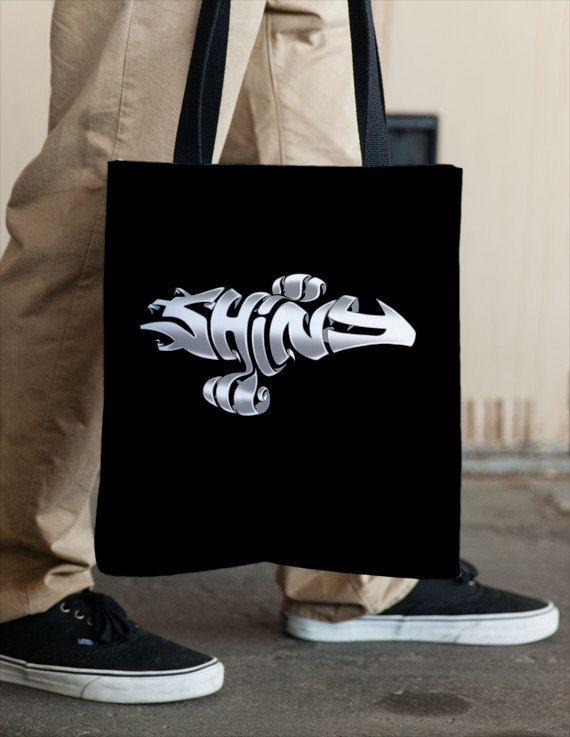 SHINY Firefly Tote by Vincent Carrozza