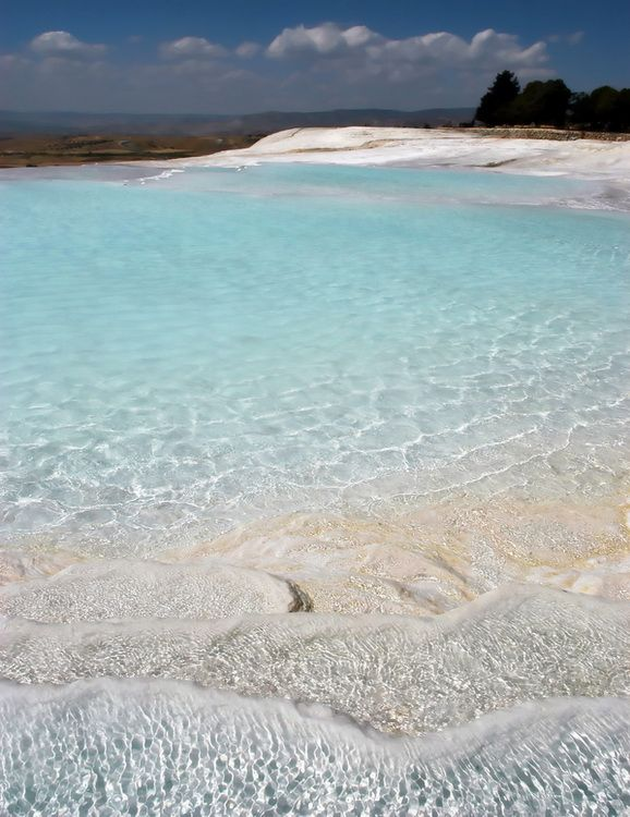 Natural Springs and Limestone Cliffs of Pamukkale – Turkey