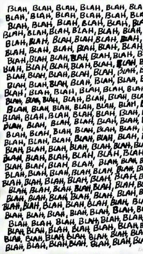 Blah Blah ★ iPhone wallpaper