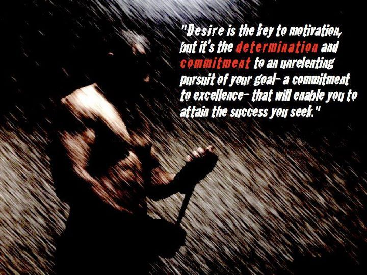 Fitness Motivational Quotes | Fitness Motivation: Desire is the key to motivation...