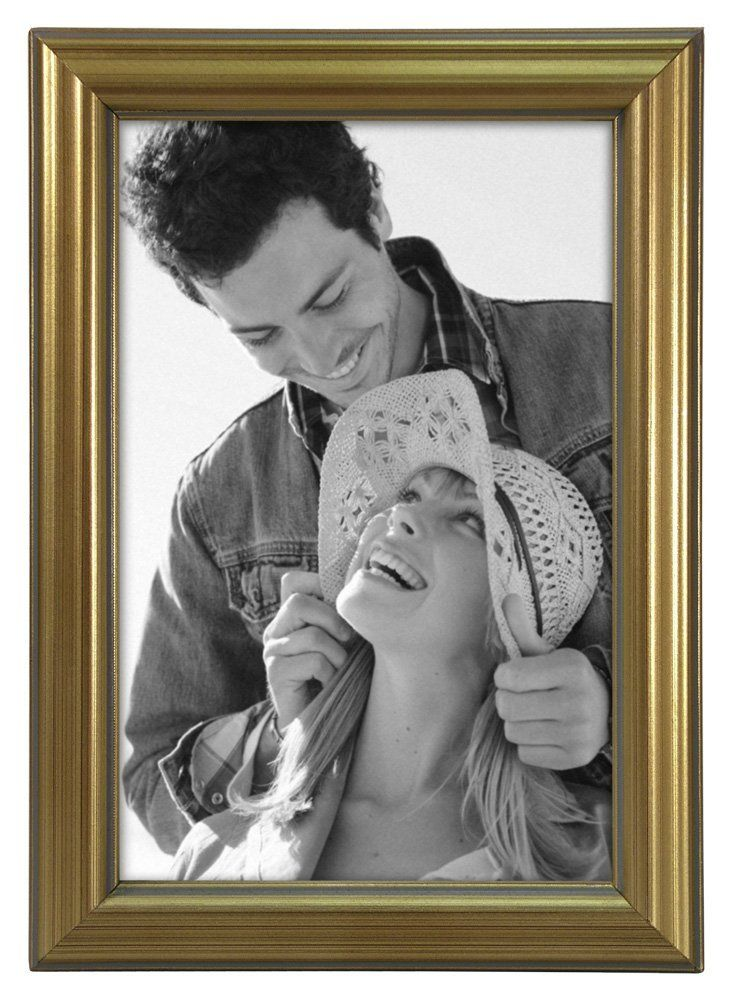 Amazon.com - Malden International Designs Traditions Molding Wooden Picture Frame, 4 by 6-Inch, Gold -