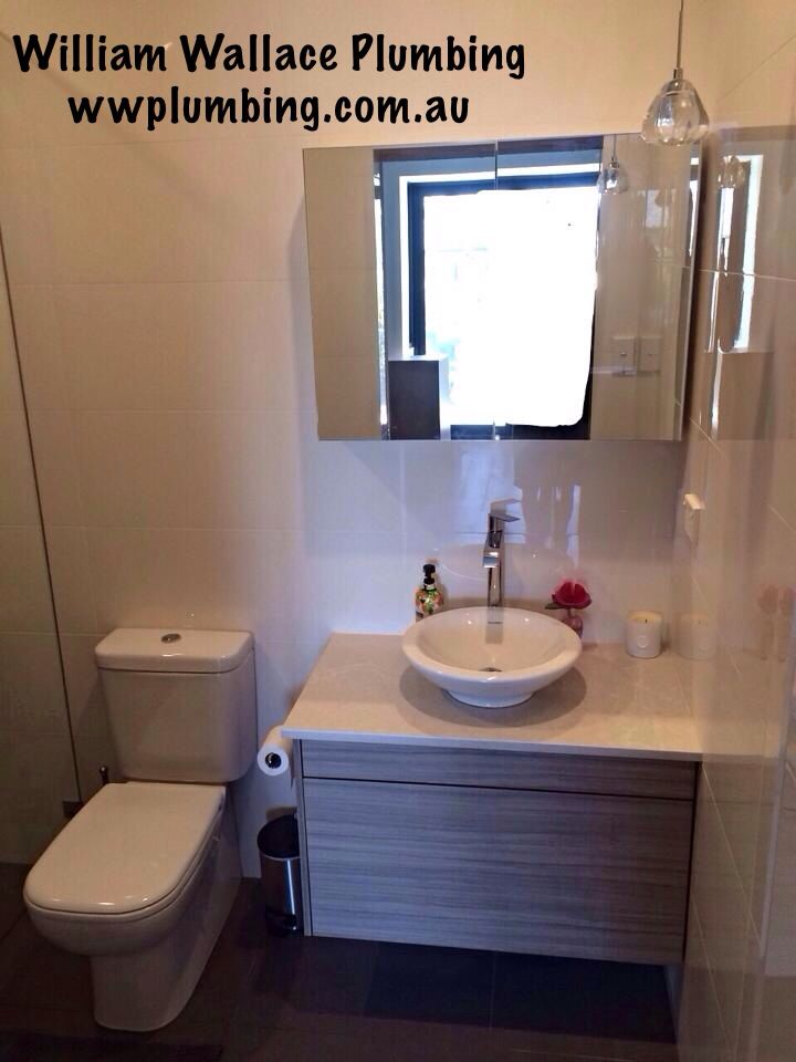 Guest ensuite renovation with Taste Living and Knock it up Constructions