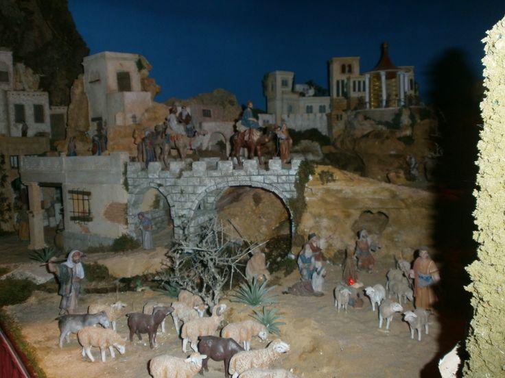 Imagen del Belén de Hoyo de Manzanares