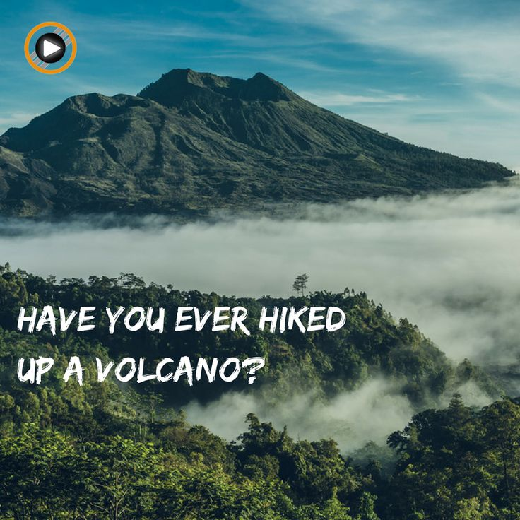 What can I do when I'm gettin' bored in Bali (like that could happen!) Have you ever hiked up a Volcano? Try either Mount Batur (piece of cake ;)) or Mount Agung (... less a piece of cake) #activity #bali #lifestyle #volcanolovers #hikelovers #hiking #volcano