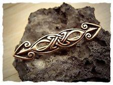 "Keltische Brosche ""Pfeil"" aus Bronze - Gewandnadel, Pfeilspitzen, Schmuck"