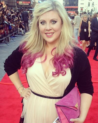 SprinkleOfGlitter (Louise) at the 1D premiere