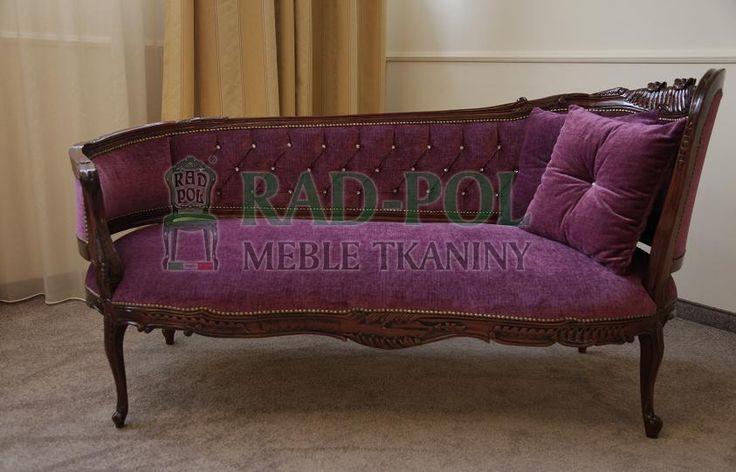 Szezlong 318/K - Szezlongi - Rad-Pol - Meble Stylowe, meble włoskie, klasyczne meble retro, sofy stylowe, narożniki