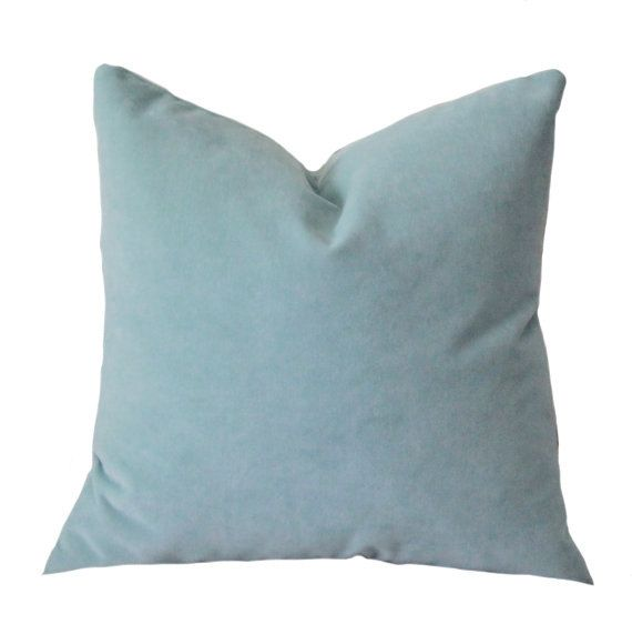Designer Decorative French Blue Pillow Cover Cool by MotifPillows