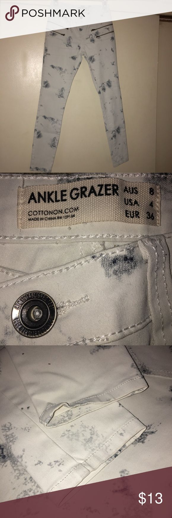 Cotton On Ankle Grazer Skinny Jeans Size 4 Cotton On Ankle