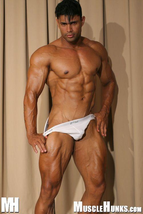 African american nude midel