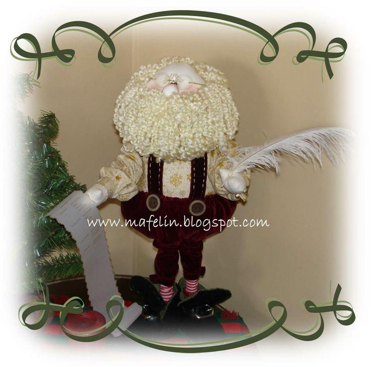 Santa's List made by me, design by Sparkles N Spirits