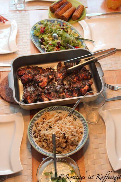 Jamie Oliver 30 Minuten Menü : Jamaika - Hähnchen