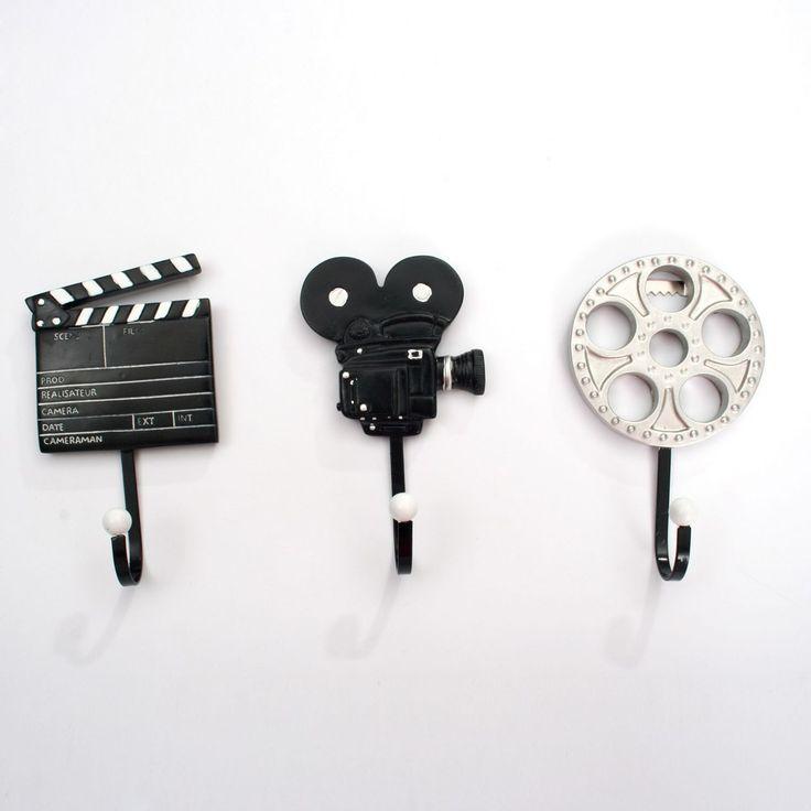 colgadores decorativos film unidades