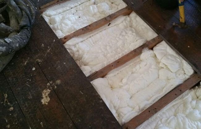 Floor Insulation Spray Foam Insulation Ireland
