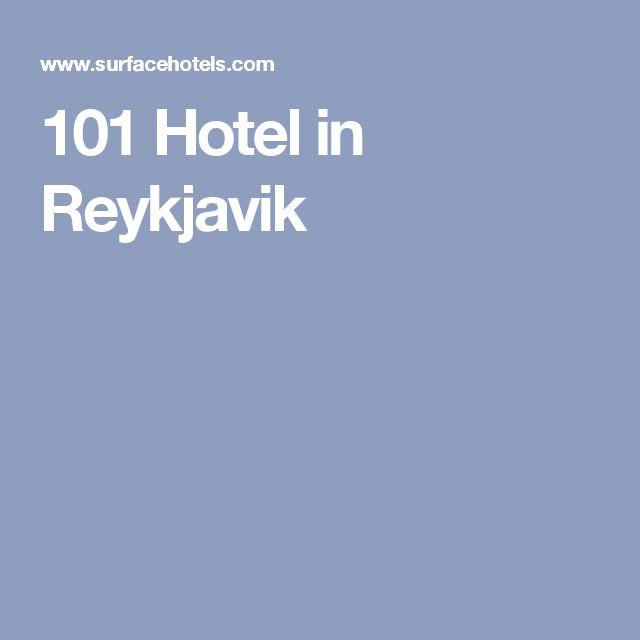 101 Hotel in Reykjavik