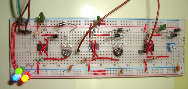 Operation Of Astable Multivibrator Mode Of 555 Timer Ic