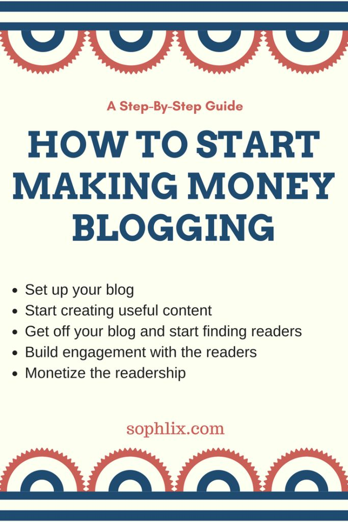 Learn how to create a money making blog from start to finish. Simple guide to your money making machine (blog)