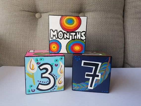 Check out this item in my Etsy shop https://www.etsy.com/ca/listing/559877887/made-to-order-baby-blocks-custom-baby