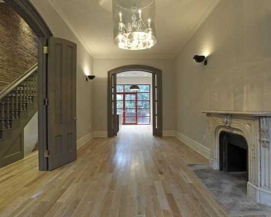 dark trim with light walls in living room - - Yahoo Image Search Results
