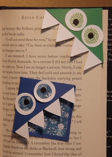 Crack of Dawn Crafts: Monster Bookmark Paper Craft
