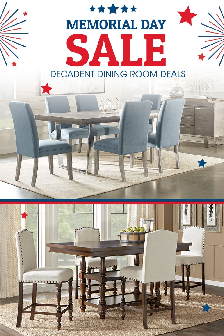 Decadent Dining Room Deals Are At Your Finger Tips During Our