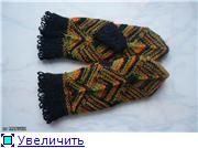 МК по вязанию варежек и шарфика