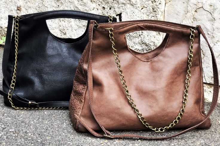 Fandango Bags: black & brown. Real leather. New Tweak Winter Collection